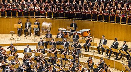 clasica  La Orquesta Metropolitana y el Coro Talía finalizan temporada a golpe de Bernstein o Rutter
