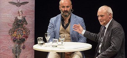 Davide Livermore y Albert Girona