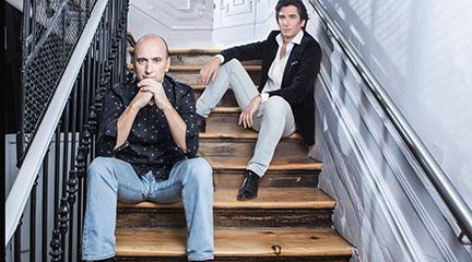 cdsdvds  Iagoba Fanlo y Pablo Amorós recuperan en un Cd la música de la Generación del 27