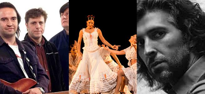Los Secretos. Carmen con el Ballet Flamenco de Madrid. Arcangel