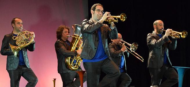 para ninos  Brass Brass Brass, un concierto familiar con la sonoridad de los metales, en el Festival de Verano de El Escorial