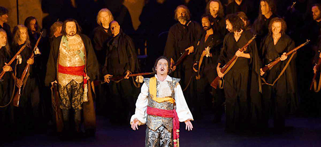 lirica  El Gran Teatro del Liceu lleva la ópera a la Plaza Mayor