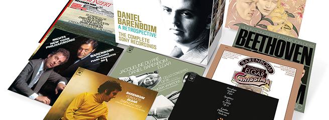 cdsdvds  Todas las grabaciones de Daniel Barenboim para CBS/Sony Classical, RCA y Red Seal en una sola edición