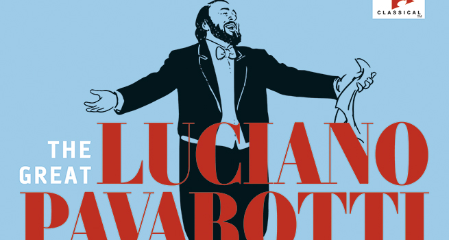 cdsdvds  The Great Luciano Pavarotti