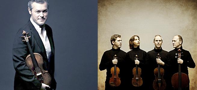 festivales  El Cuarteto Casals o Vadim Repim, grandes citas en el Festival de Música de Santander