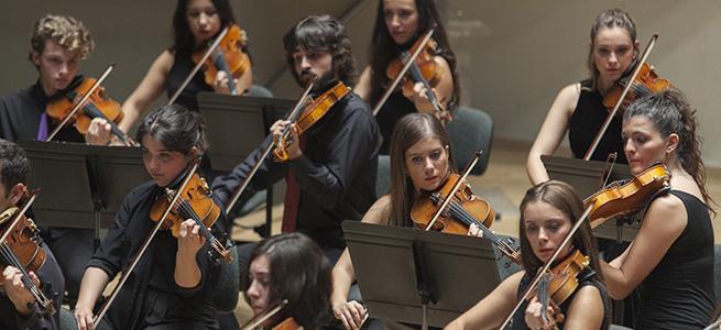 temporadas  La Joven Orquesta Sinfónica de la FSMCV inicia la temporada de conciertos en el Palau de Altea