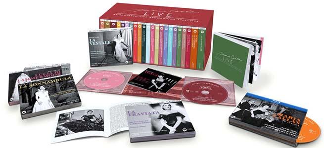 cdsdvds  Maria Callas Live: Remastered Live Recordings (1949 1964)