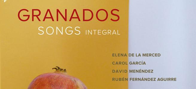 cdsdvds  La integral de canciones de Granados: un CD puramente español