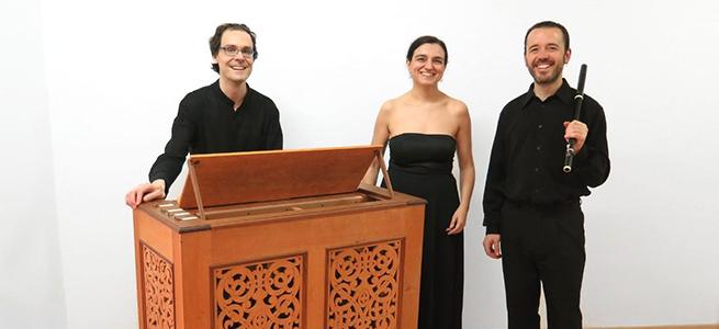 clasica  El Trio Sekrets en la Ruta de Órganos históricos de Castilla La Mancha