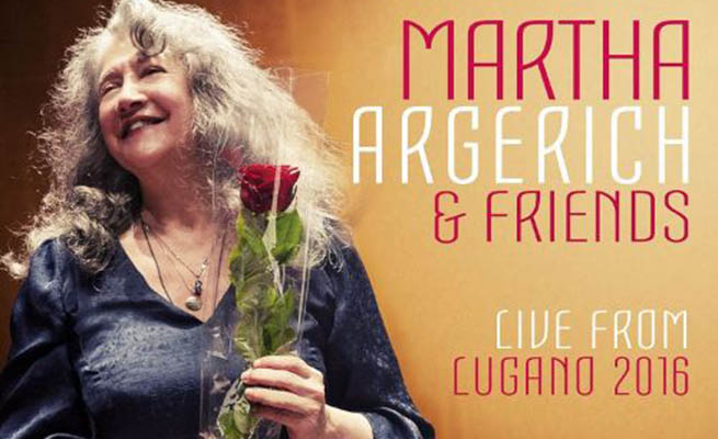 cdsdvds  Martha Argerich & Friends: Live from Lugano 2016