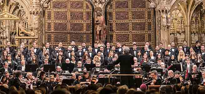 lirica  El Stabat Mater, de Rossini suena en la Catedral de Toledo