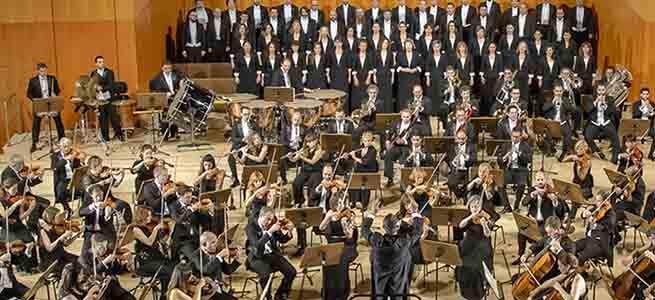 festivales  La Orquesta Sinfónica y Coro RTVE inaugura el XXV Otoño Musical Soriano