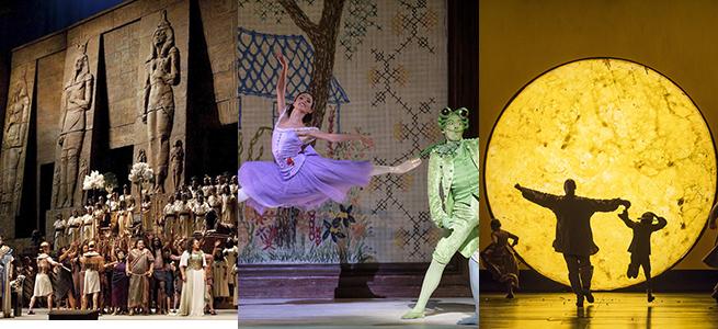 temporadas  Grandes títulos de ópera y danza llenan el otoño en Cinesa