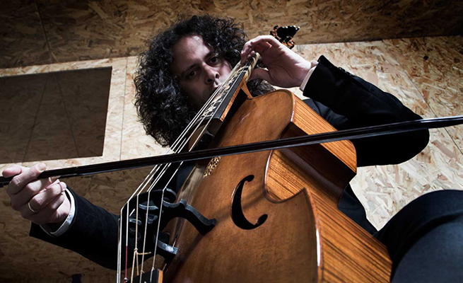 antigua  Fahmi Alqhai estrena su programa Bach