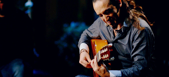 notas  Flamenco joven en la UC3M con Vasco Hernández Sexteto