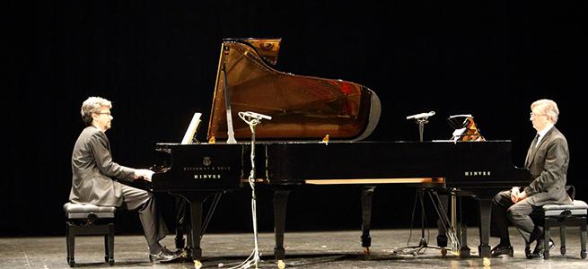 opinion  Dos pianistas, dos pianos y 24 compositores celebran la creación de Chopin en el Festival de Música de Tres Cantos