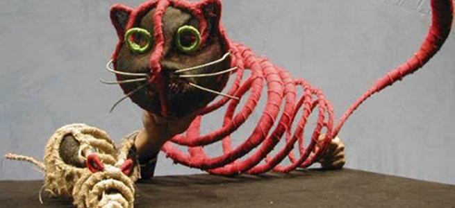 para ninos  Teatro de títeres para niños en Historia de una gaviota y del gato que le enseñó a volar