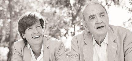 Mario Prisuelos y Tomás Marco