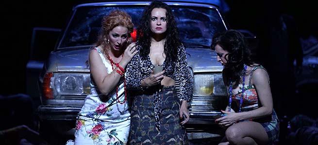 lirica  Carmen, de Bizet en la versión de Calixto Bieito llega al Teatro Real