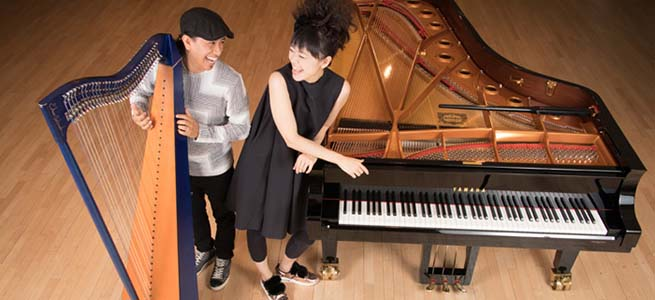 jazz  Hiromi y Edmar Castañeda inauguran II Atlantic Sons Festival