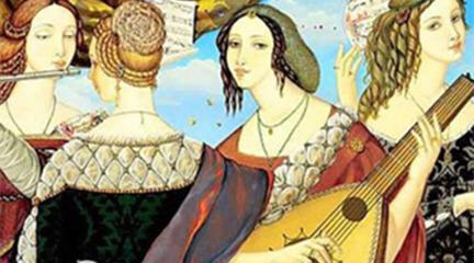 para ninos  Obra de teatro musical sobre las mujeres en el Barroco: Traspiés, palabras para desaparecer