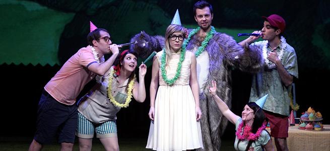 para ninos  Dido y Eneas, a hipster tale en el Teatro Real