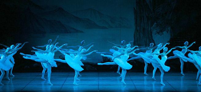 clasica danza  El Ballet Nacional Ruso baila el Lago de los cisnes en el Palacio Euskalduna