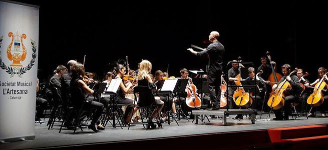 concursos  Jurado y participantes del Concurso de Orquestas de la Comunitat Valenciana