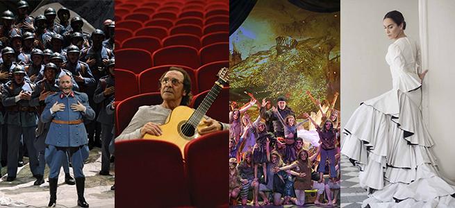temporadas  Ópera, flamenco, villancicos y espectáculos en familia en el mes de diciembre del Teatro de la Maestranza