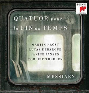 publicaciones  Martin Fröst, Lucas Debargue y Janine Jansen graban Quatuor pour la fin du temps', de Messiaen