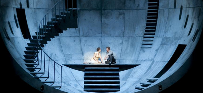 lirica  Tristan und Isolde llega al Liceu en la espectacular producción de la Fura dels Baus