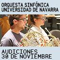 AUDICIONES SINFÓNICA NAVARRA