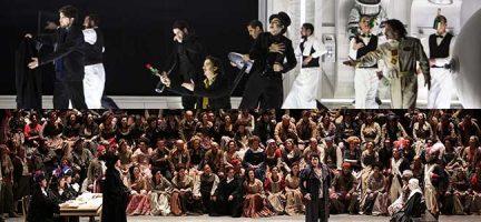 La bohème © Bernd Uhlig / OnP. Andrea Chenier © Teatro Alla Scala