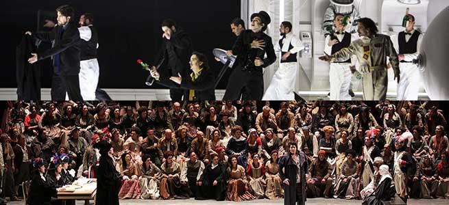 lirica  Andrea Chenier, desde Milán y La bohème, desde París en directo dentro de la temporada de ópera de Cinesa