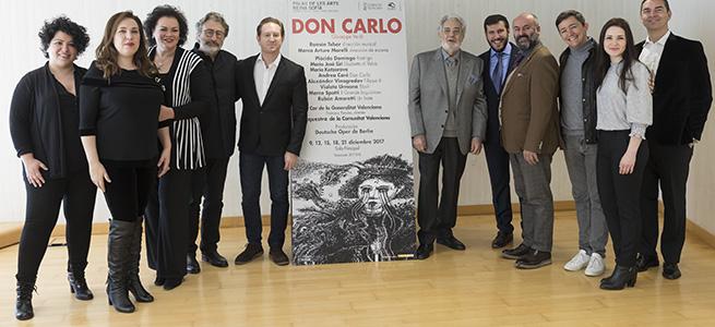 lirica  Don Carlo, de Verdi en el Palau de les Arts con un elenco de primeras estrellas
