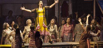 Un momento de 'Carmen', en la Opera de Firenze. Pietro Paolini TerraProject