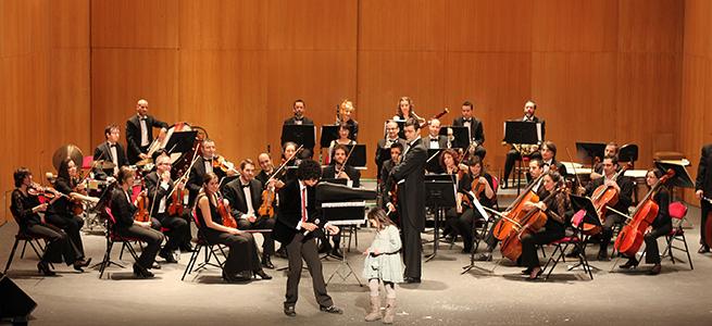 para ninos  Conciertos didácticos músico mágicos con la Orquesta Filarmónica de Málaga