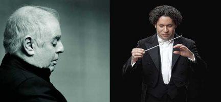 Daniel Barenboim. Gustavo Dudamel