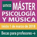 UNED PSICOLOGÍA Y MÚSICA