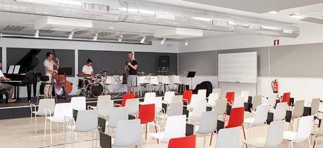 actualidad de centros  Jornada de puertas abiertas en la Escuela Superior de Estudios Musicales. Taller de musics