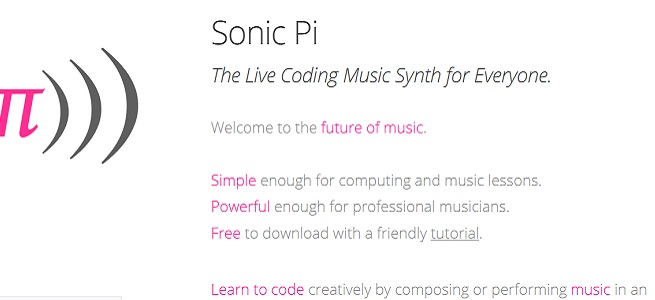 cursos  Creación musical y tecnología en el aula con Sonic Pi. EME8