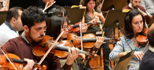pruebas de acceso  Curso Avanzado de Especialización Orquestal 2018 2019