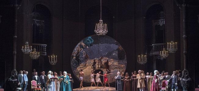 lirica  Adriana Lecouvreur en el Teatro de la Maestranza