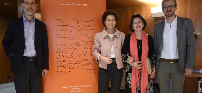 concursos  El Concurso Internacional de Piano de Santander Paloma OShea da a conocer a los 20 participantes de su XIX edición