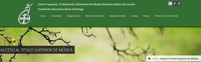 actualidad de centros  Pruebas de acceso al Título Superior de Música en C.S.M Loreto FESD