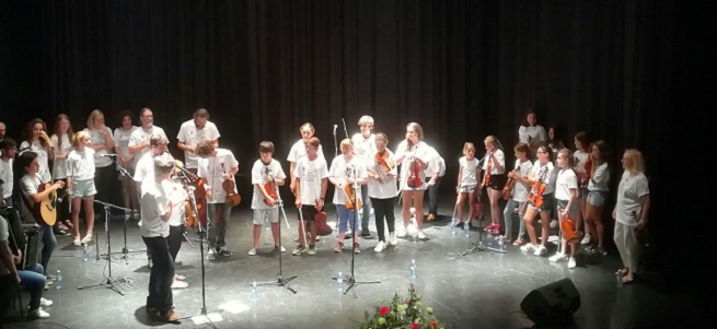 cursos de verano 2018  Curso Internacional de música tradicional Folkonexion