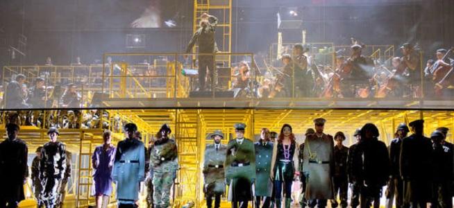 lirica  Die Soldaten, una ópera para mostrar el horror, en el Teatro Real