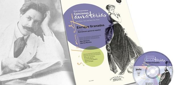 novedades  Presentación de la guía interpretativa de las Canciones amatorias, de Enrique Granados, editada por Boileau
