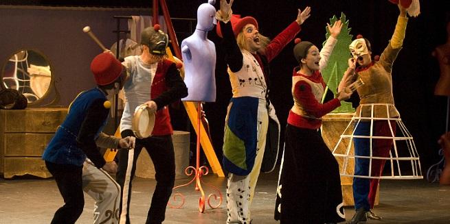 para ninos  Allegro Vivace, un viaje por el mundo de la ópera en Abao Txiki