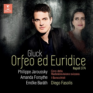 novedades  Philippe Jaroussky. Orfeo ed Euridice